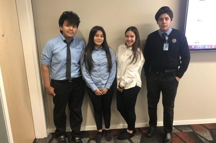 Kraus-Anderson's High School interns from Cristo Rey