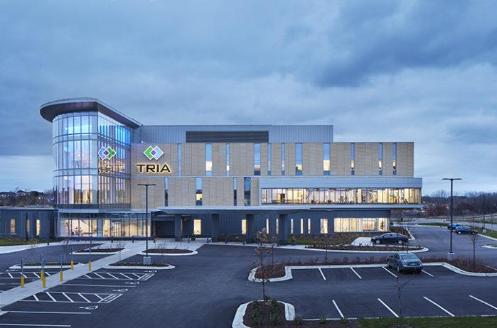 TRIA Orthopaedic Center exterior Top Projects TRIA