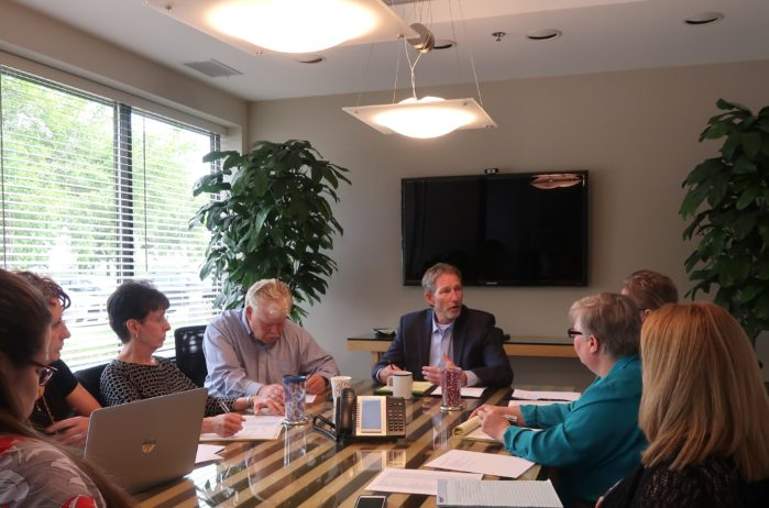Kraus-Anderson Insurance Architects & Engineers Group meeting