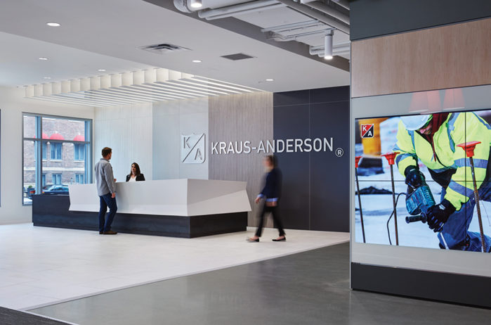 Kraus-Anderson Twin Cities lobby
